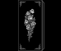 Оформление закрытого цветника