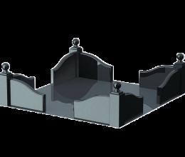 Гранитный цоколь СТ104
