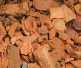 Кремний оранжевый крошка