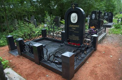 Изготовление элитных комплексов на Вешняковском кладбище в Москве