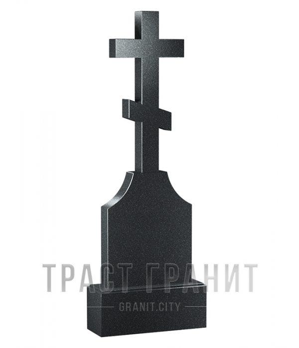 Памятник с крестом из гранита на могилу К102