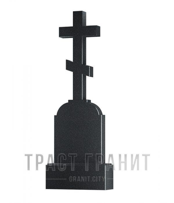 Памятник с крестом из гранита на могилу К103
