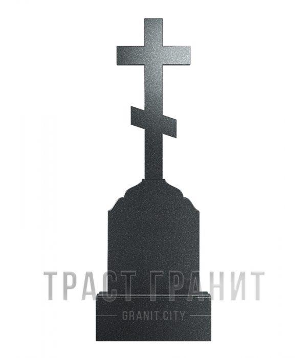 Памятник с крестом из гранита на могилу К107