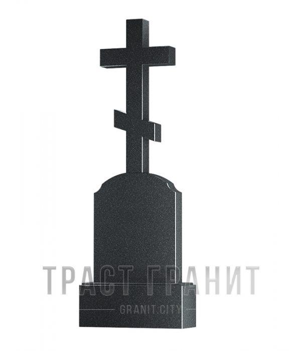 Памятник с крестом из гранита на могилу К116