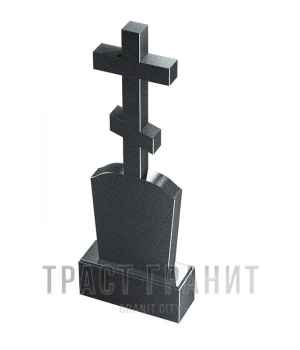 Памятник с крестом из гранита на могилу К118