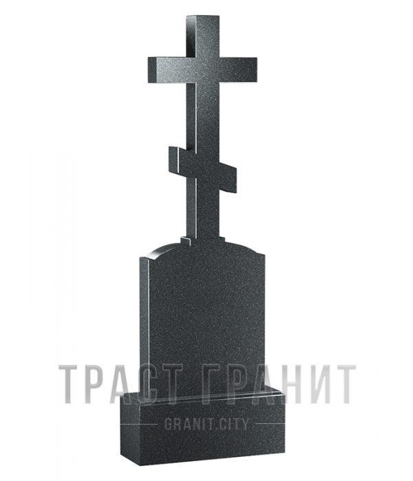 Памятник с крестом из гранита на могилу К123