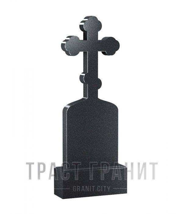 Памятник с крестом из гранита на могилу К127
