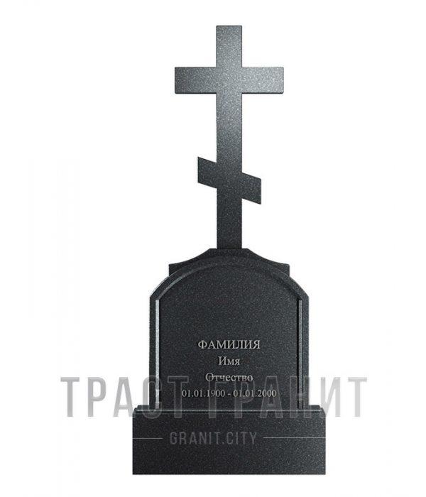Памятник с крестом из гранита на могилу К129