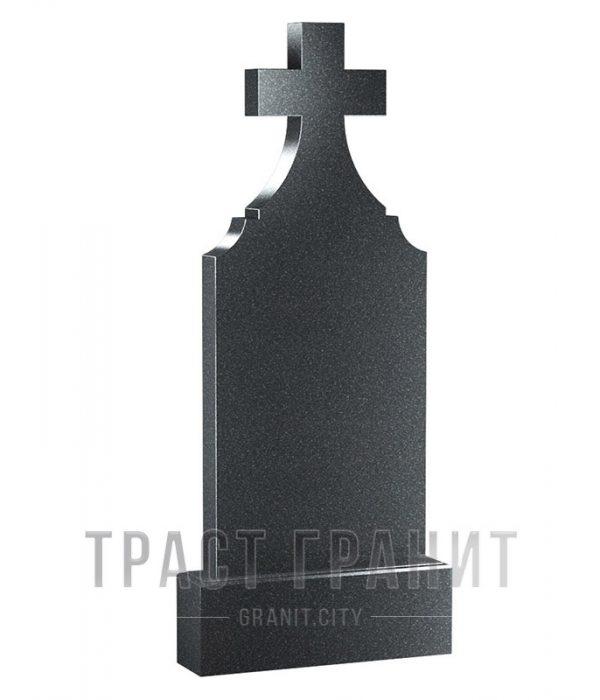 Памятник с крестом из гранита на могилу К133