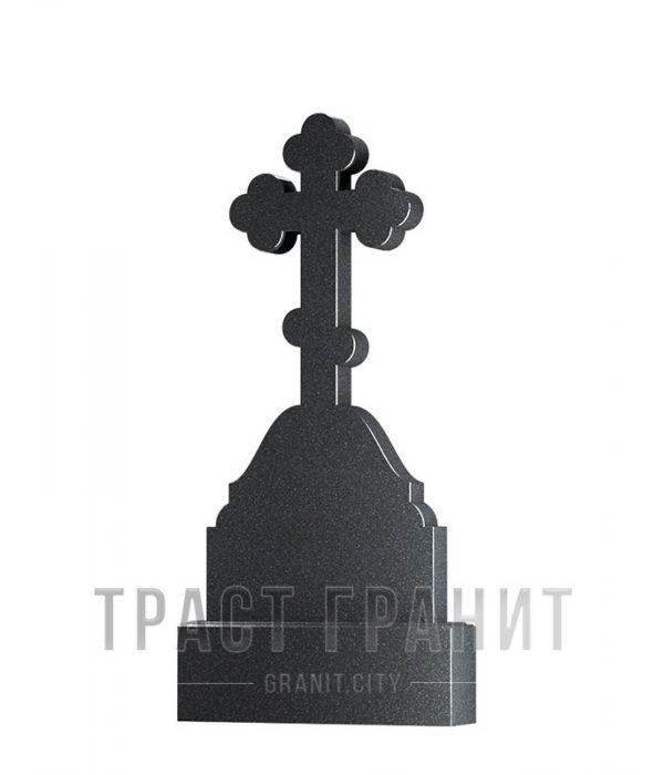 Памятник с крестом из гранита на могилу К137