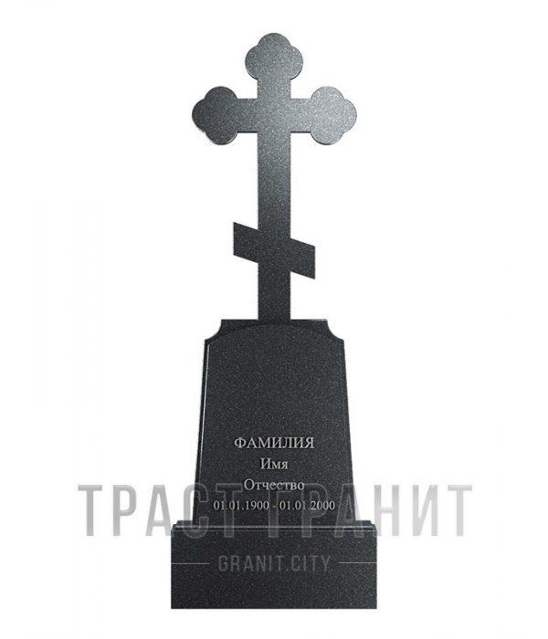 Памятник с крестом из гранита на могилу К139