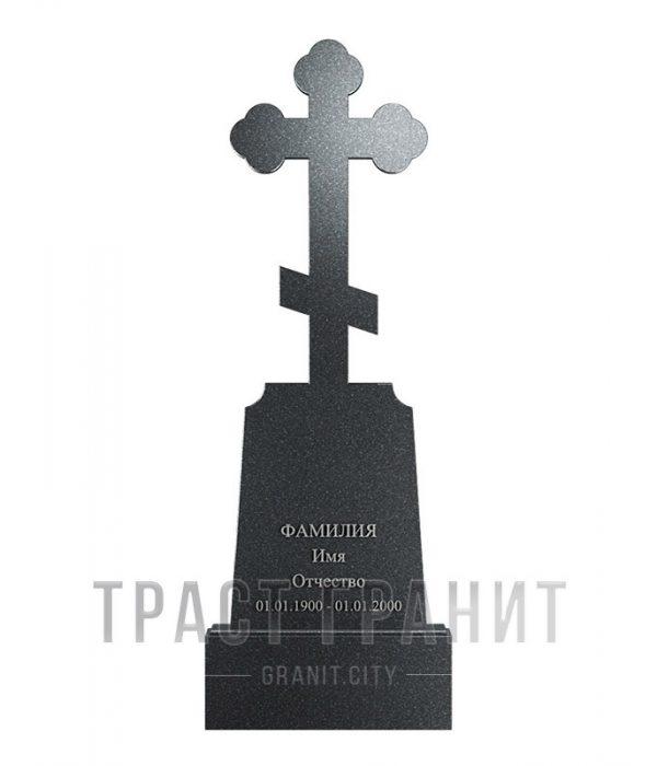 Памятник с крестом из гранита на могилу К140