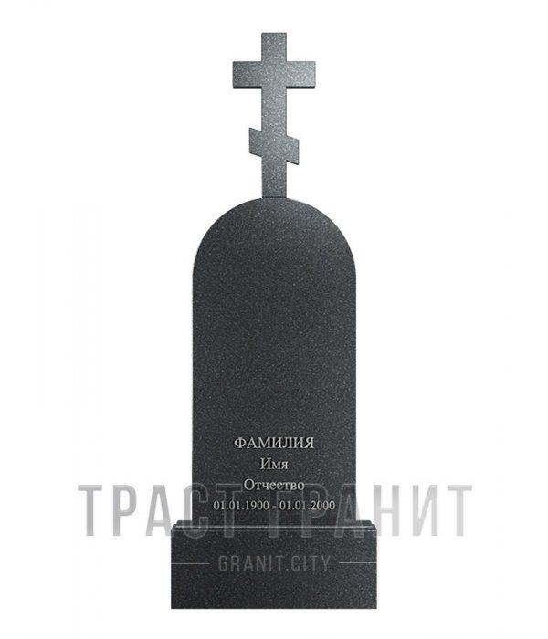 Памятник с крестом из гранита на могилу К146