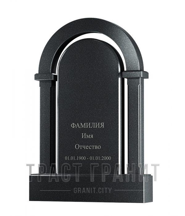 Памятник арка из гранита на могилу Р104