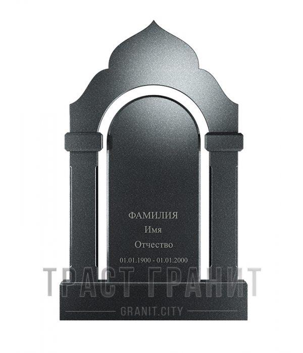 Памятник арка из гранита на могилу Р111