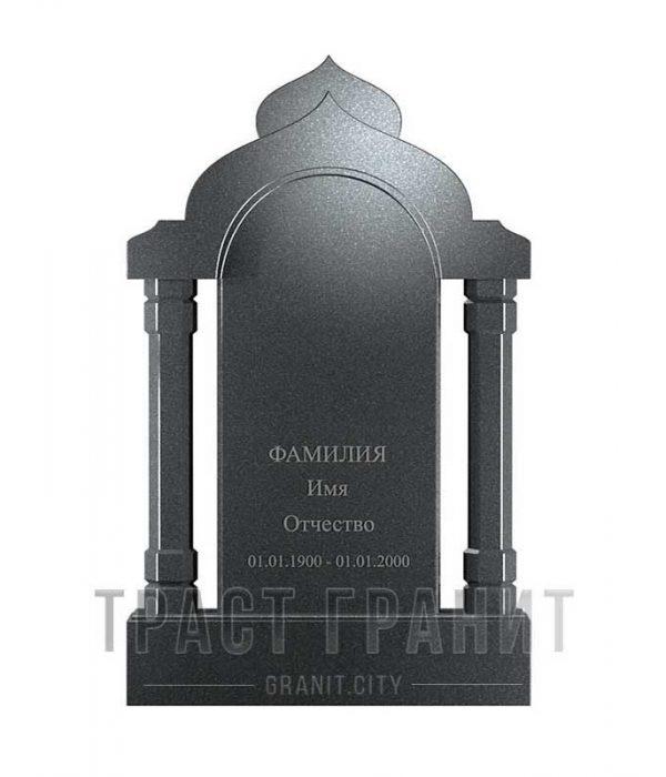 Памятник арка из гранита на могилу Р127