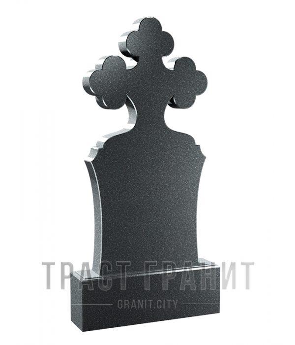 Памятник с крестом из гранита на могилу К153