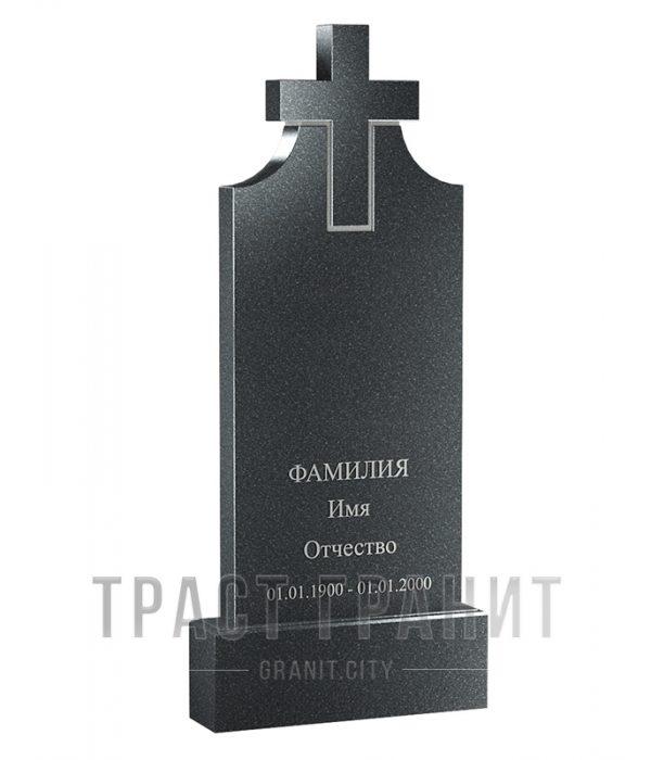 Памятник с крестом из гранита на могилу К117