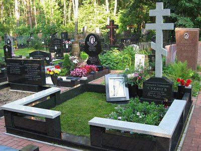 Изготовление элитных комплексов на Бусиновском кладбище в Москве