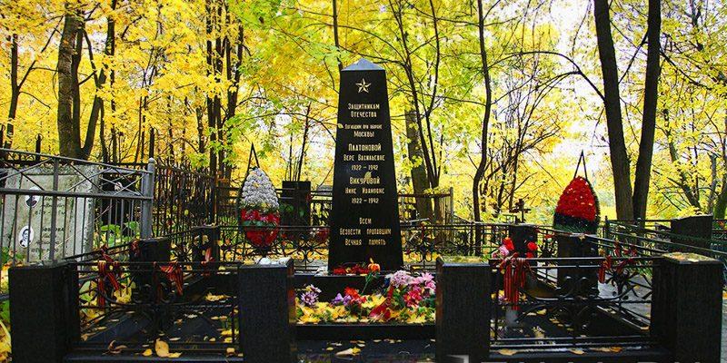 Изготовление элитных комплексов на Ореховском кладбище в Москве