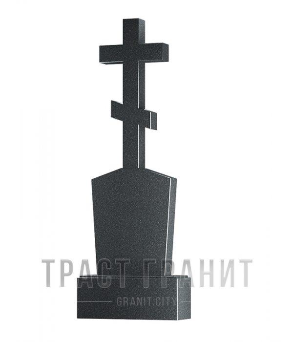 Памятник с крестом из гранита на могилу К105