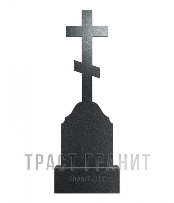 Памятник с крестом из гранита на могилу К106