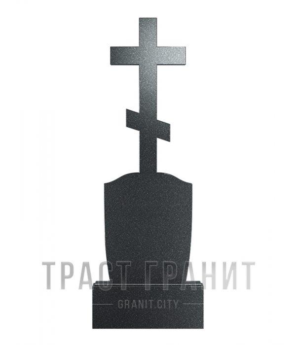 Памятник с крестом из гранита на могилу К109