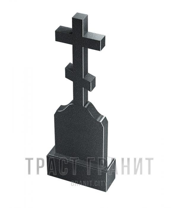 Памятник с крестом из гранита на могилу К111