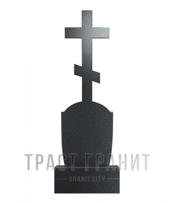 Памятник с крестом из гранита на могилу К112