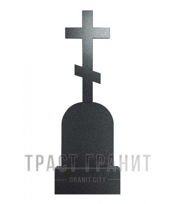 Памятник с крестом из гранита на могилу К114