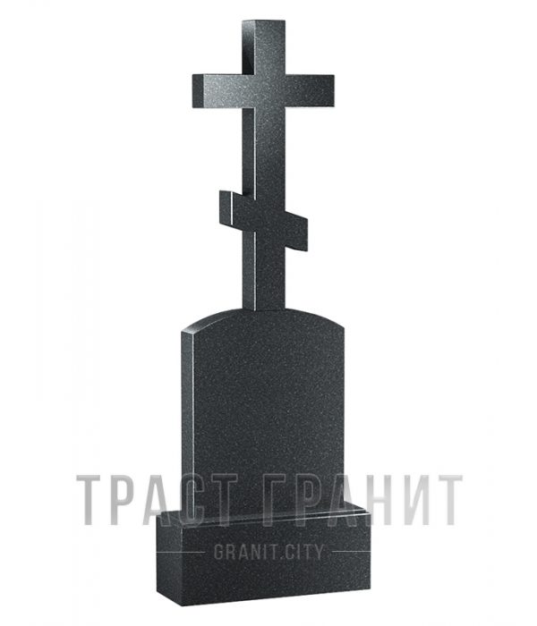 Памятник с крестом из гранита на могилу К115