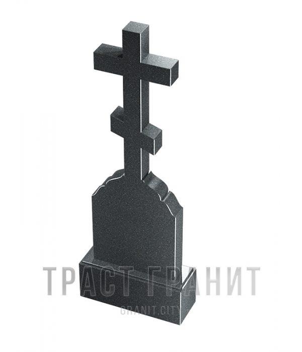 Памятник с крестом из гранита на могилу К119