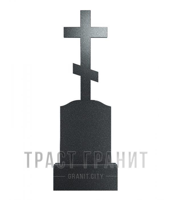 Памятник с крестом из гранита на могилу К120