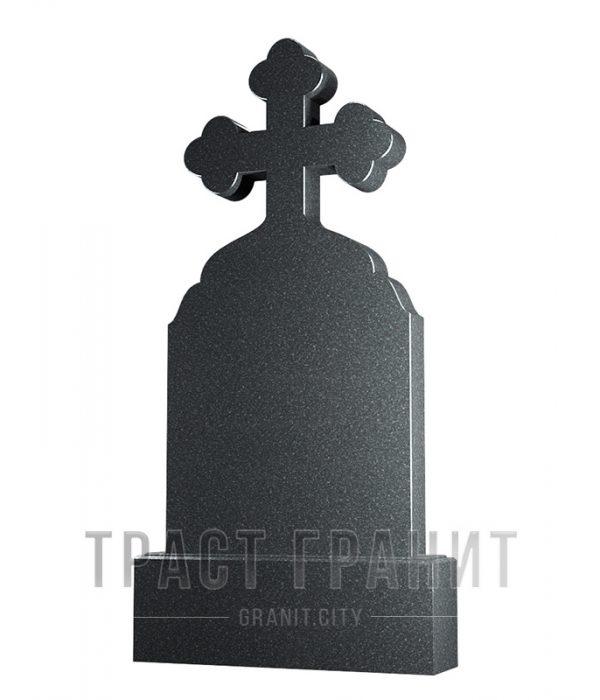 Памятник с крестом из гранита на могилу К124