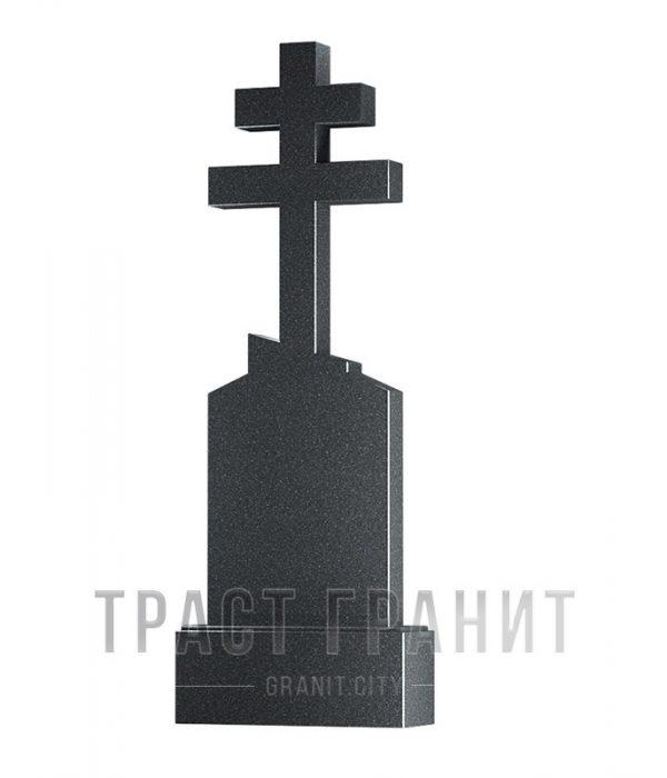 Памятник с крестом из гранита на могилу К125