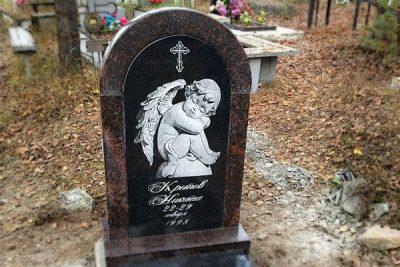 Детский памятник на могилу