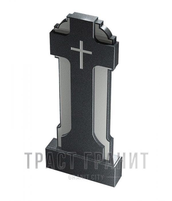 Памятник с крестом из гранита на могилу К144