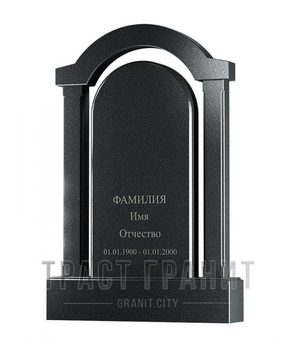 Памятник арка из гранита на могилу Р102