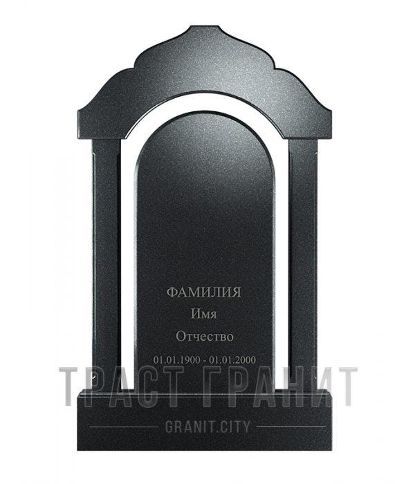 Памятник арка из гранита на могилу Р105