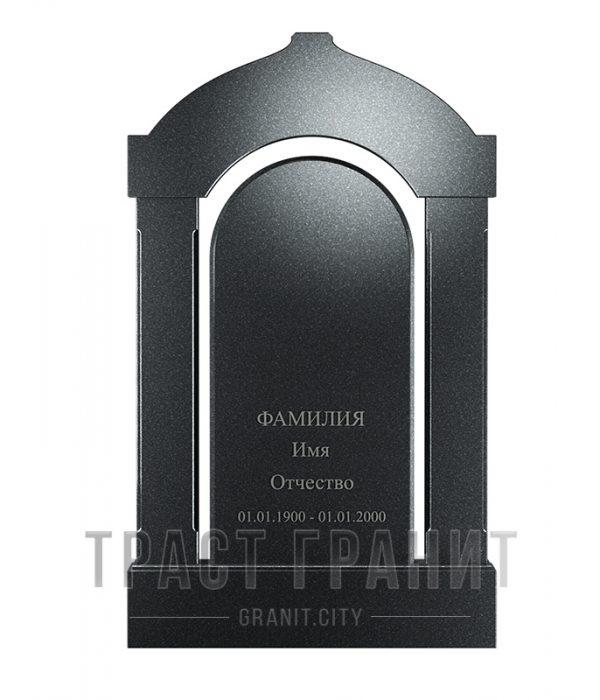 Памятник арка из гранита на могилу Р107