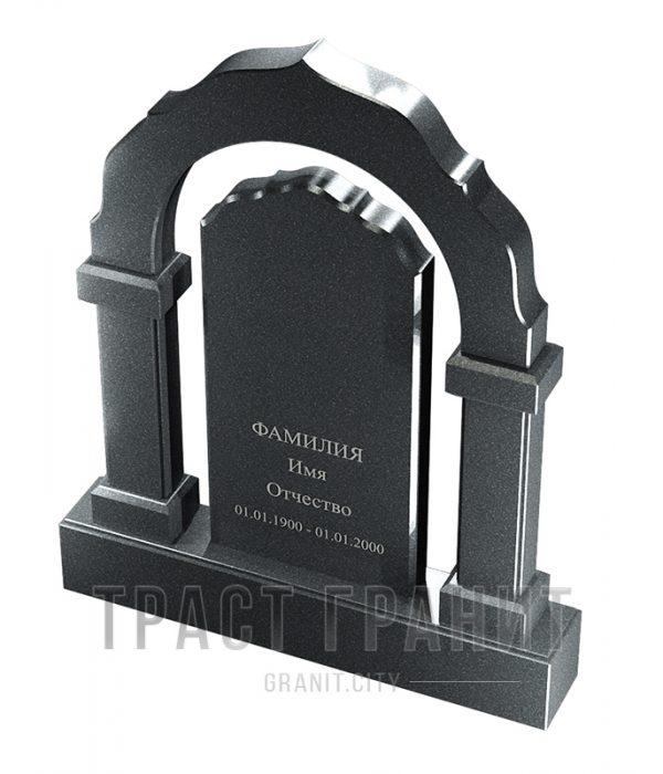 Памятник арка из гранита на могилу Р112