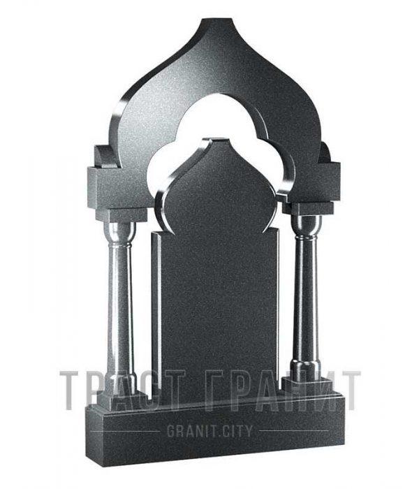 Памятник арка из гранита на могилу Р128