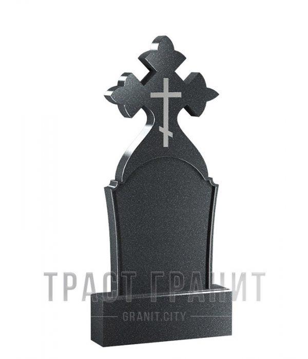 Памятник с крестом из гранита на могилу К150