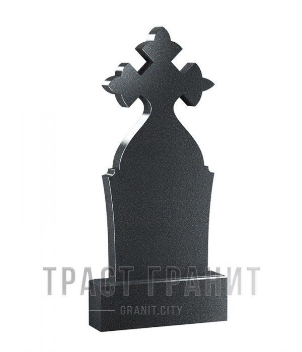 Памятник с крестом из гранита на могилу К160